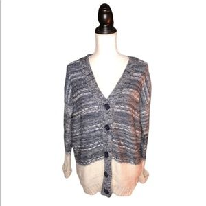 COTTON ON Chunky Knit Button Down Cardigan Sweater